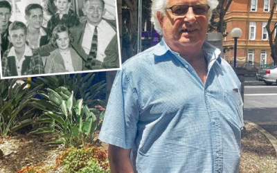RODNEY MERRETT, FIRST NSW OPEN HEART SURGERY PATIENT